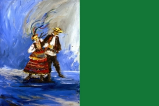 Polish National Dances – Exhibition of Paintings by Katarzyna Chodoń - miniatura