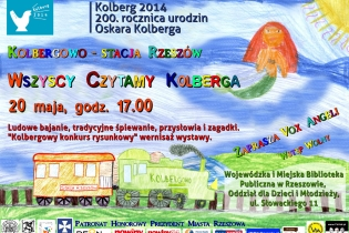 Kolbergowo – Rzeszów station – Let's All Read Kolberg - reading session for children - miniatura