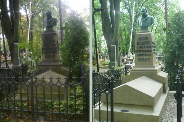 Oskar Kolberg's memorial renovated  - miniatura