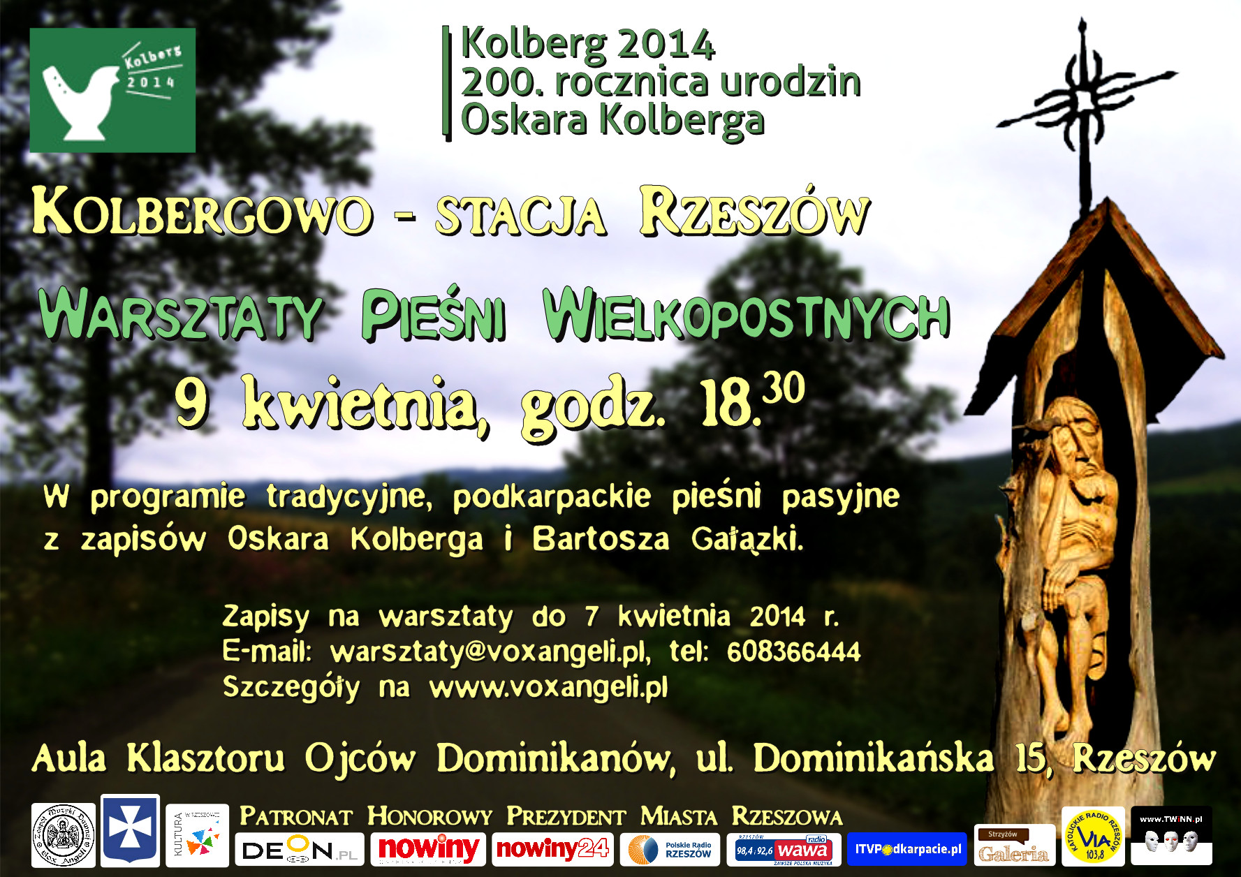 Kolbergowo – Rzeszów station – Workshops of Lent Songs Singing - miniatura
