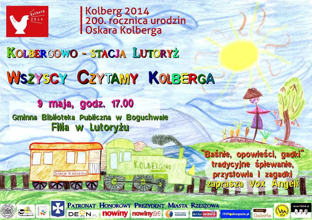 Kolbergowo – Lutoryż station – Let's All Read Kolberg – a reading session for children - miniatura