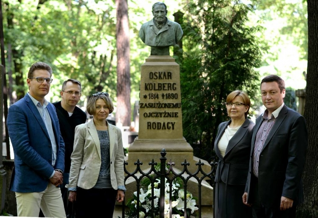 125th anniversary of Oskar Kolberg's death - miniatura