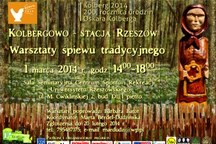 Kolbergowo – Rzeszów station – Traditional Singing Workshops - miniatura