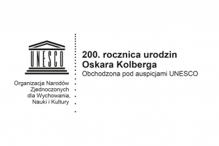 200th anniversary of the birth of Oskar Kolberg under UNESCO's auspices  - miniatura